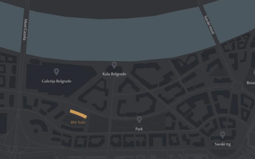 BW Sole - Novogradnja Beograd na vodi