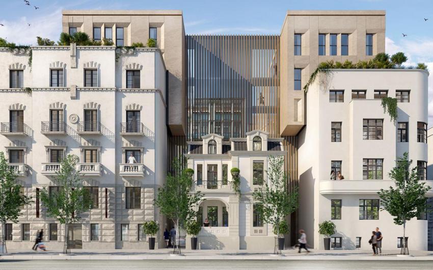 Kneza Miloša Residence - Novogradnja Beograd Savski Venac Centar
