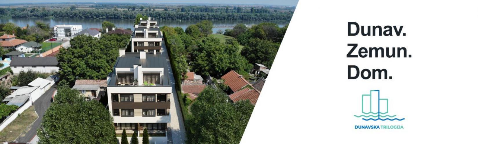 Dunavska Trilogija - novogradnja Zemun